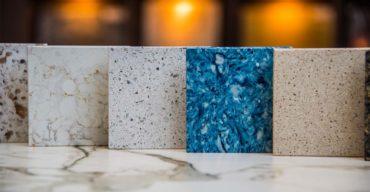 Diversas pedras com cores dos granitos